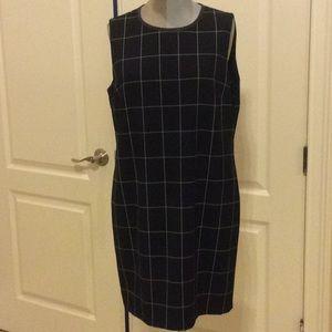 Lauren Ralph Lauren navy sheath dress size 12
